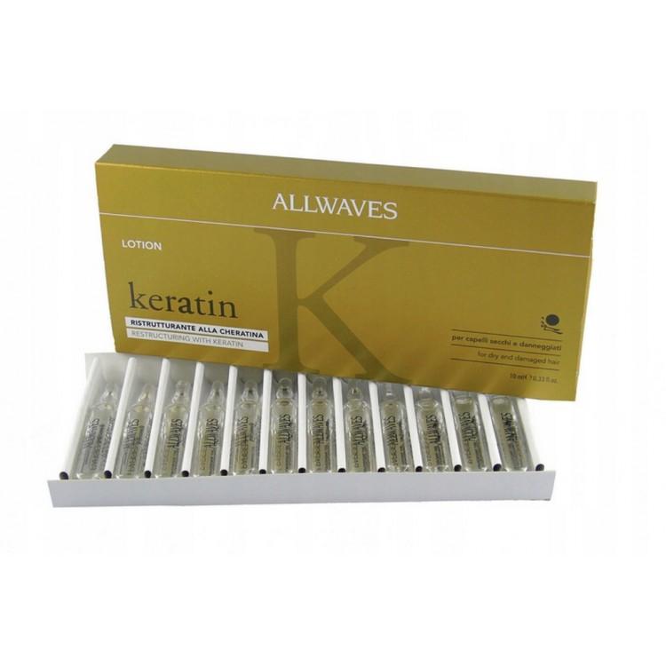 Кератиновые ампулы для сухих и поврежденных волос