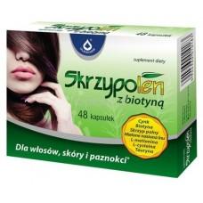 Европейские витамины для роста волос Skrzypolen z biotyna